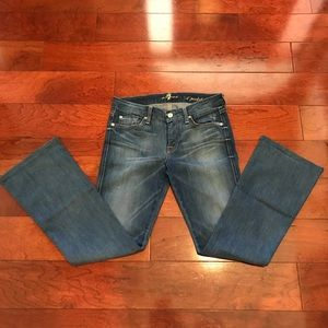 Boot cut jeans by 7for all mankind